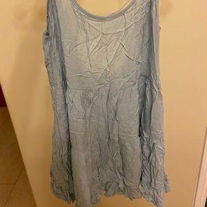 Brandy Melville one size light blue dress